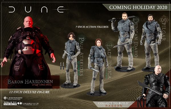 McFarlane Toys Launches DUNE 2021 Movie Collectible Figure Line