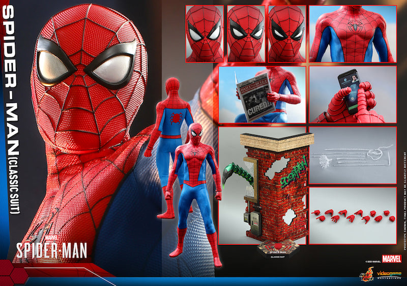 Hot Toys Spider-Man (Classic Suit) Sixth Scale Figure Pre-Orders