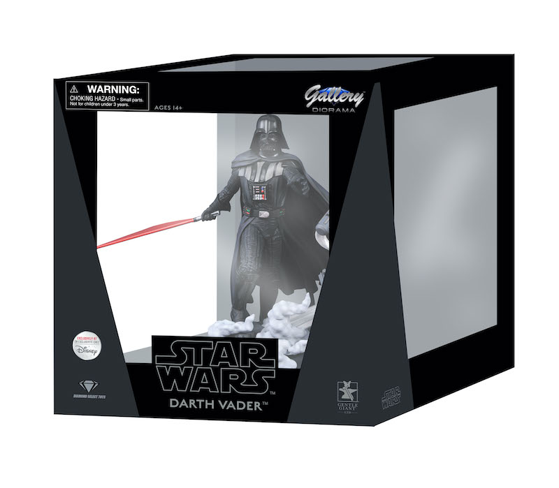 Disney Store Exclusive – Diamond Gallery Star Wars Darth Vader Diorama