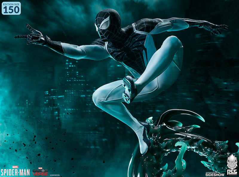 Pop Culture Shock – Spider-Man Negative Zone Suit Statue