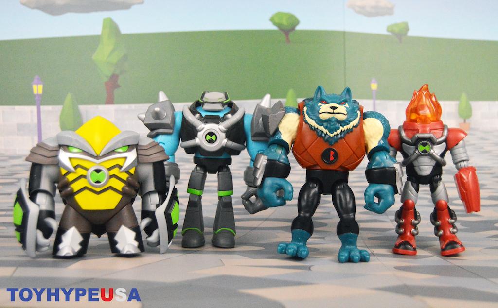 Playmates Toys Ben 10 – Omni Kix Armor & Bashmouth Figures Review