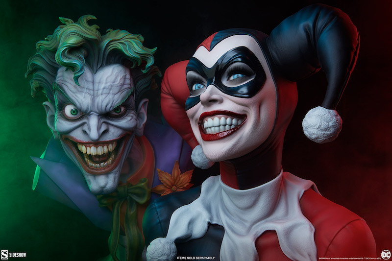 Sideshow Collectibles DC Comics – Harley Quinn Life Size Bust Pre-Orders