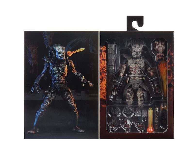 NECA Toys Predator 2 – Stalker Guardian Predator Ultimate Figure In-Packaging