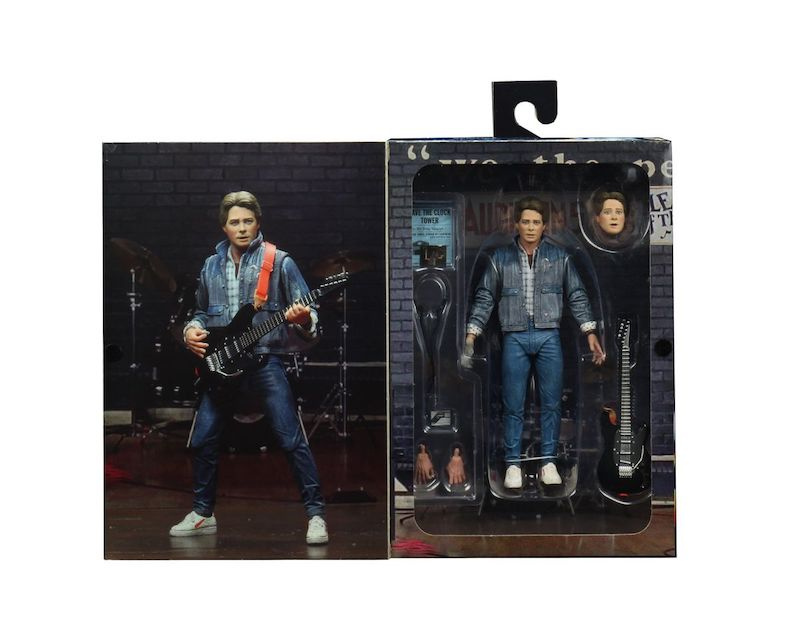 NECA Toys Back To The Future – Ultimate Marty McFly Audition Version Figure In-Packaging