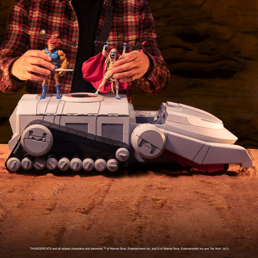 Super7 Reveals ThunderCats Ultimates Thundertank 7″ Scale Vehicle