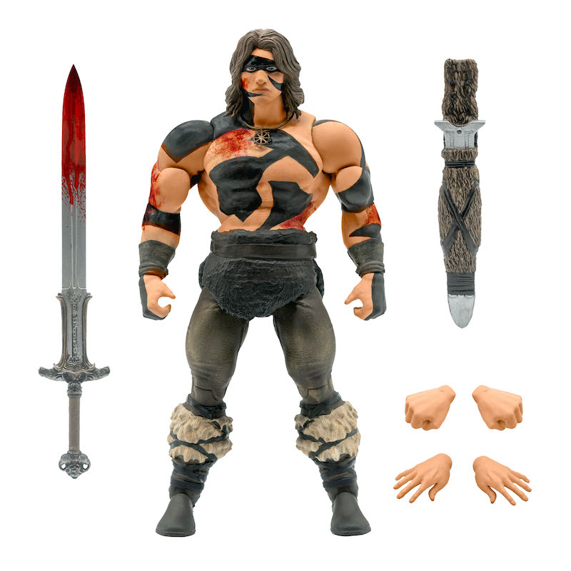 Super7 – Conan The Barbarian Ultimates Wave 3 – War Paint Conan & Thulsa Doom Figures