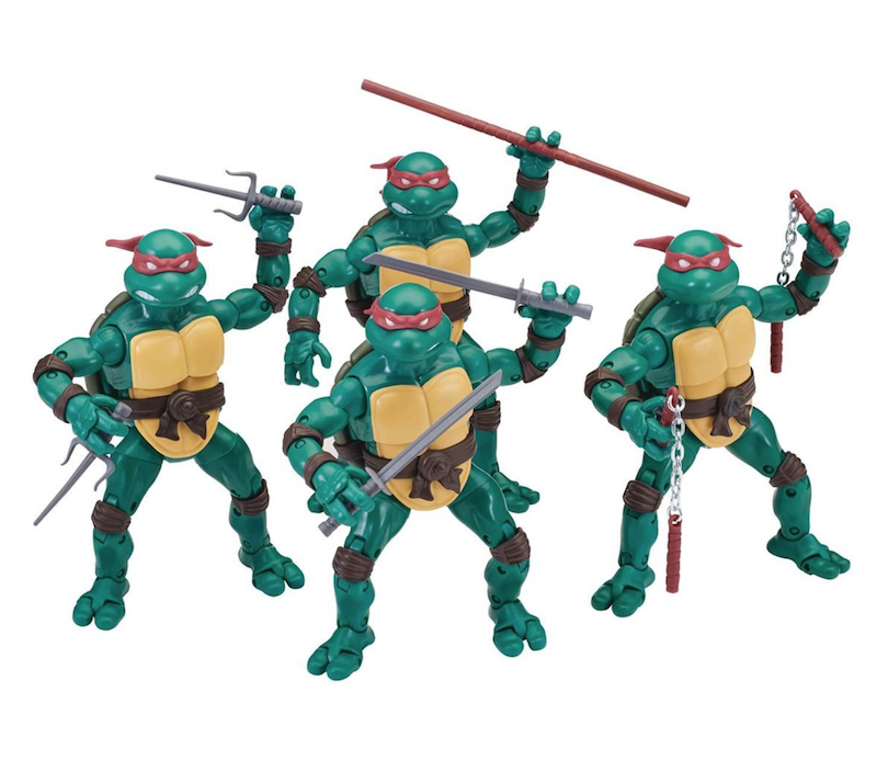 Playmates Toys Teenage Mutant Ninja Turtles Ninja Elite Series Figure Set Available Now