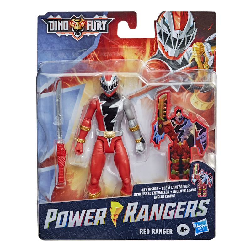 Hasbro Announces New Power Rangers Dino Fury Action Figures and Products