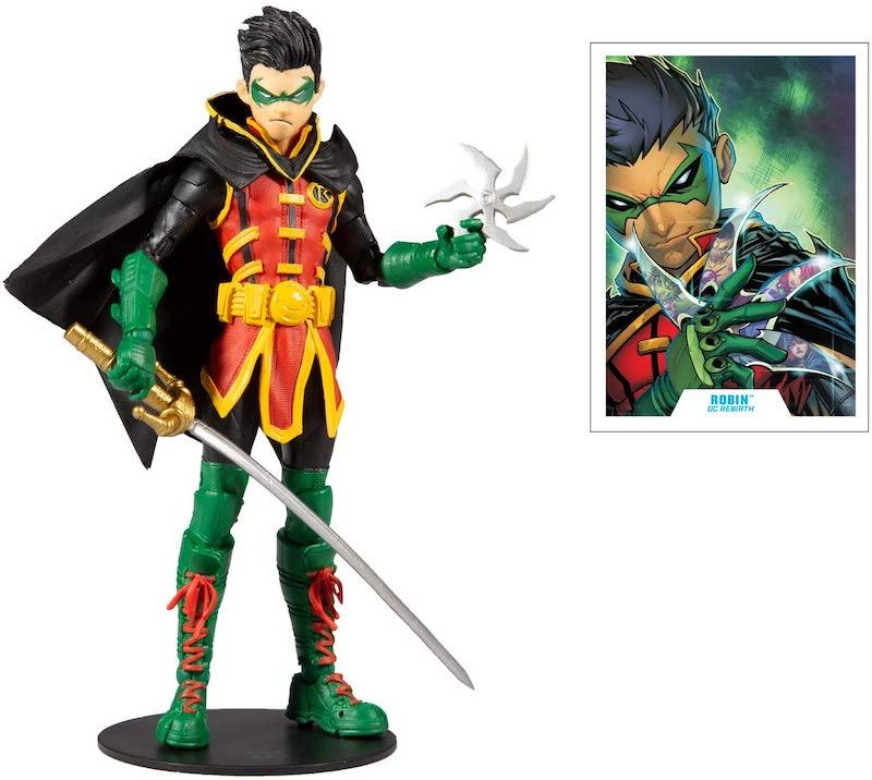 McFarlane Toys DC Multiverse Damien Wayne, Death Metal Batman, & Superman Figure Pre-Orders On Amazon