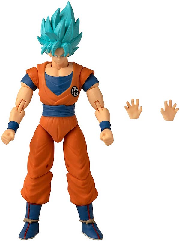 Dragon Ball Super – Dragon Stars Series 19 Super Saiyan Blue Goku Version 2 Figure Pre-Order On Amazon