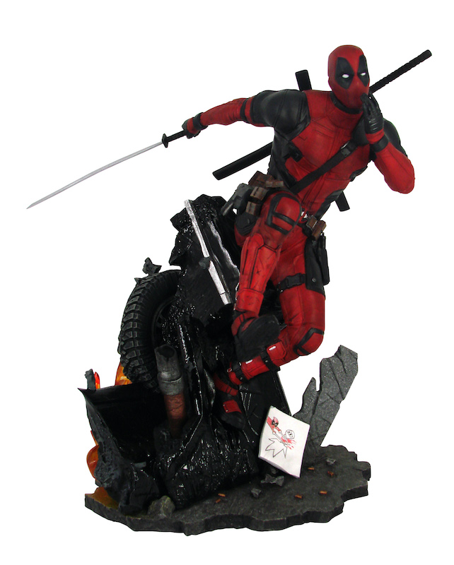 Diamond Select Toys Offers Deadpool Exclusive Gallery Diorama At Walmart Stores