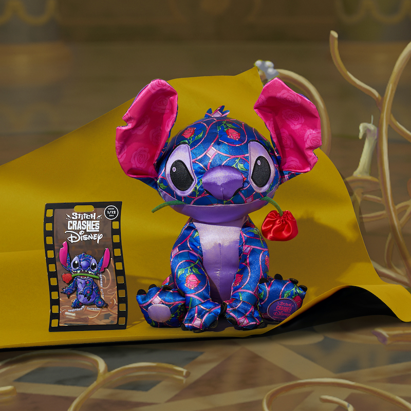 Stitch Is Crashing An All-New Collectible Series, All Year-Long