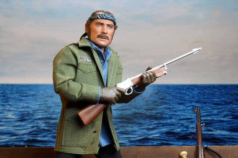 NECA Toys Jaws – Sam Quint 8″ Clothed Figure