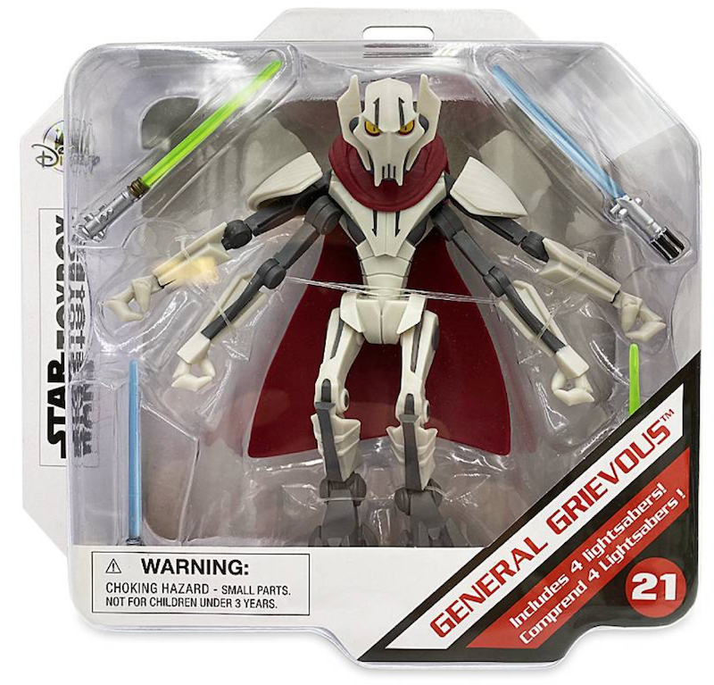 Disney Store Exclusive – Star Wars Toy Box General Grievous Back In-Stock