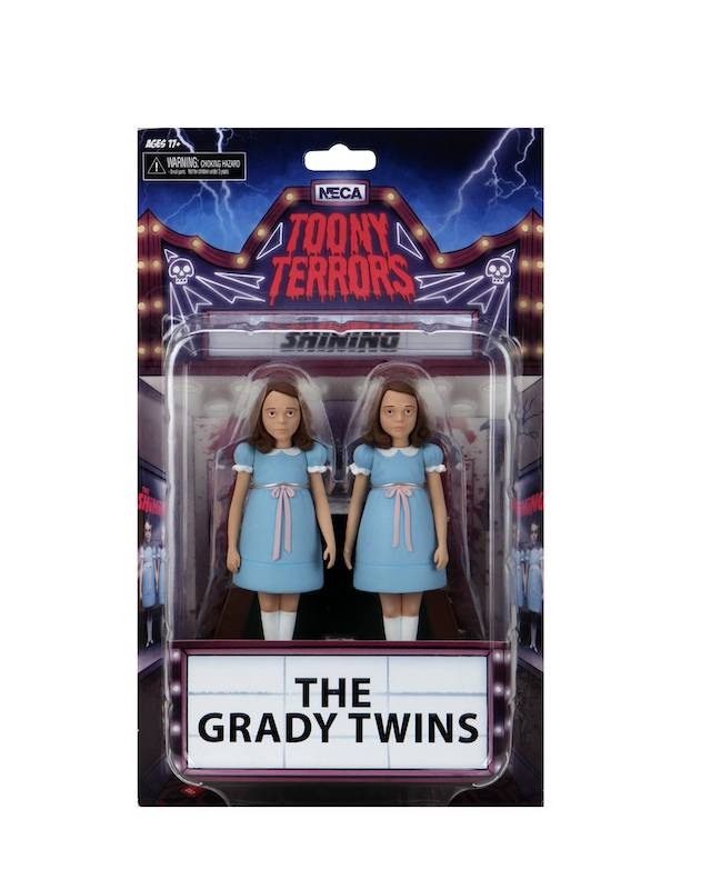 NECA Toys Toony Terrors The Shining – Grady Twins Figures In-Packaging