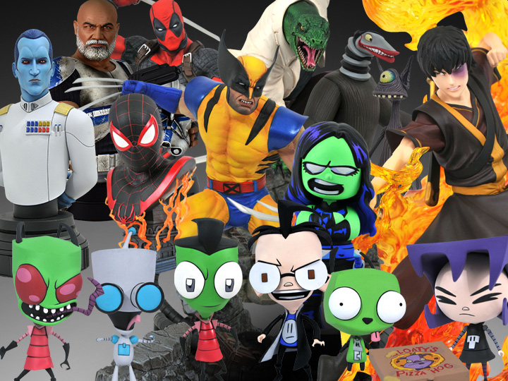 Diamond Select Toys Solicitations For July 2021 – Invader Zim, Marvel, Star Wars & Avatar