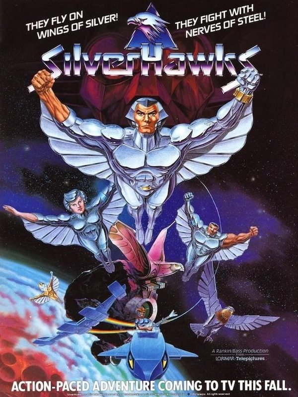 Super7 Announces Silverhawks License With New Product This Year