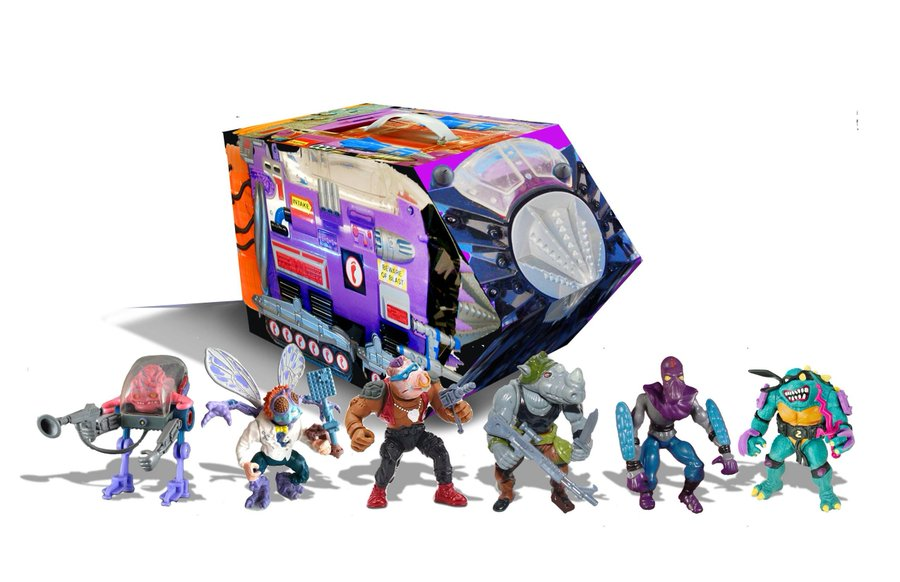 Playmates Toys Teenage Mutant Ninja Turtles Retro Rotocast Sewer Lair & Villains Mutant Module Sets Pre-Orders