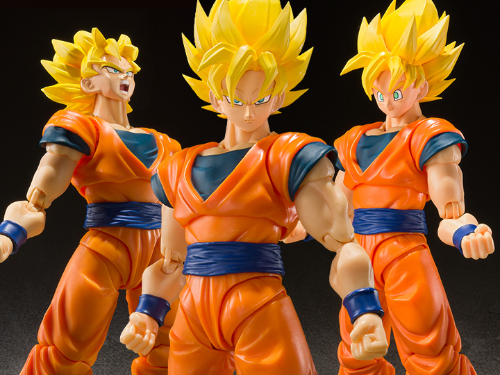 BigBadToyStore – Dragon Ball Z S.H. Figuarts Super Saiyan Full Power Goku Figure Pre-Orders