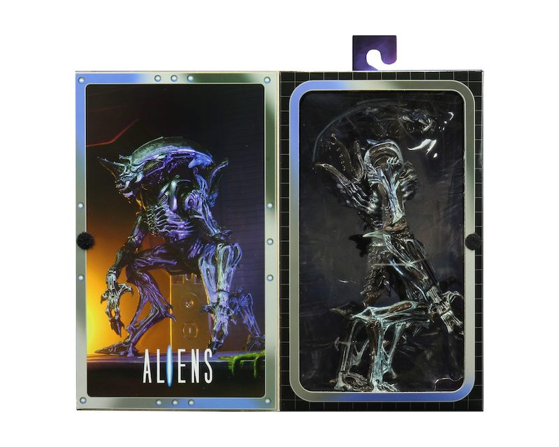 NECA Toys Ultimate Rhino Alien (Kenner Tribute) Version 2 Figure In-Packaging