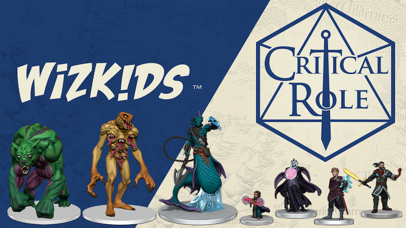 WizKids Announces Partnership With Critical Role – Factions of Wildemount