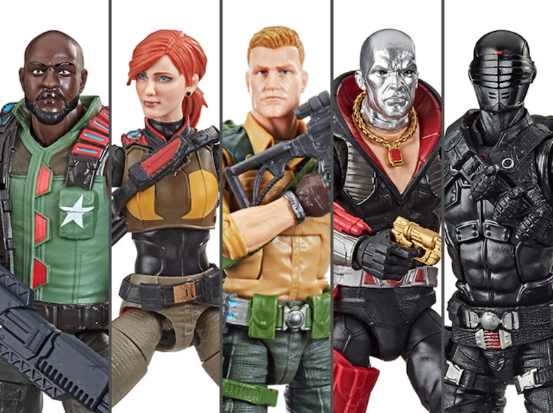Hasbro G.I. Joe Classified Wave 1 Duke, Scarlett & Roadblock Figure Reissues Get New Deco