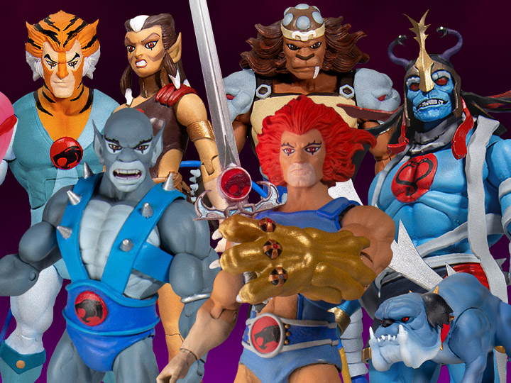 Super7 ThunderCats Ultimates Lion-O & Panthro Variants, Wave 2 Figure Restocks