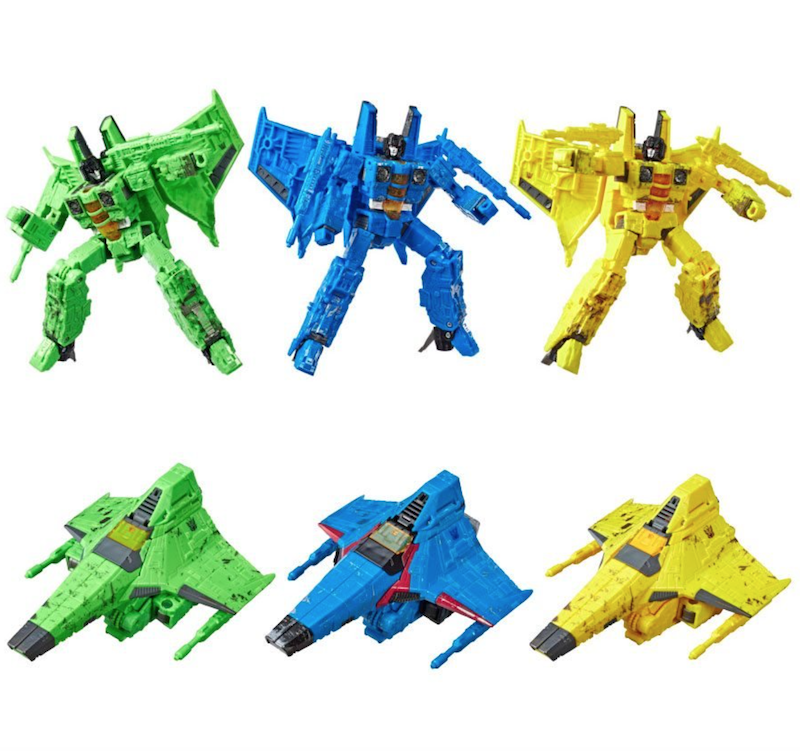 Hasbro Transformers War for Cybertron: Siege Rainmakers Seekers 3-Pack Pre-Orders