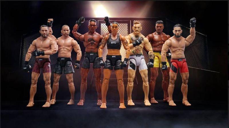 UFC & Jazwares Expand Collectibles Line with Conor McGregor, Amanda Nunes, Jorge Masvidal & More