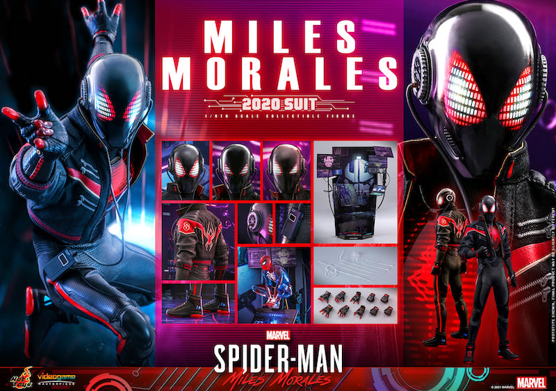 Hot Toys Spider-Man: Miles Morales – Spider-Man 2020 Suit Figure Pre-Orders