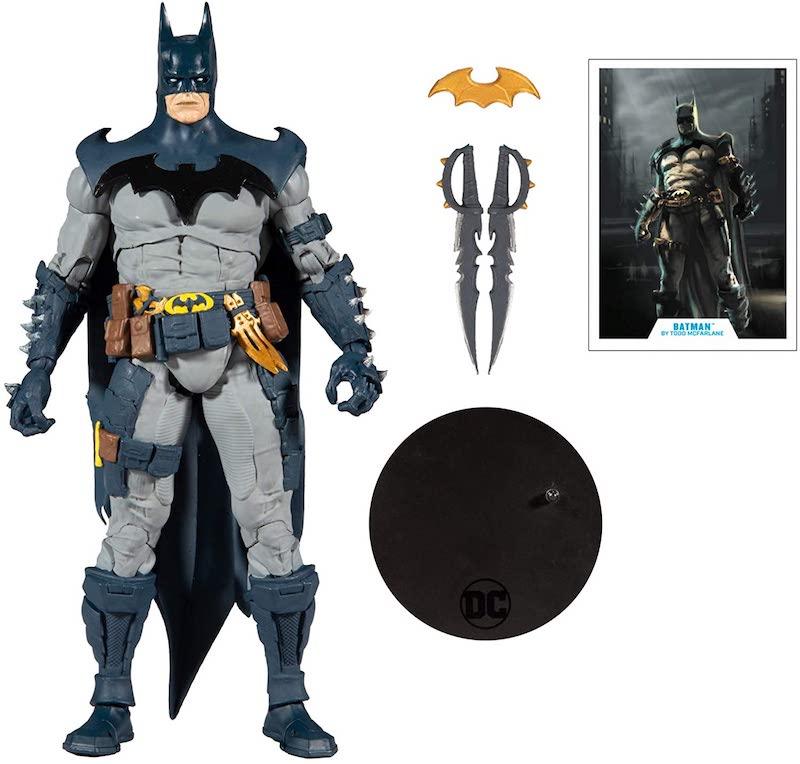 McFarlane Toys DC Multiverse Gold Label Batman 7″ Scale Figure Pre-Orders On Amazon