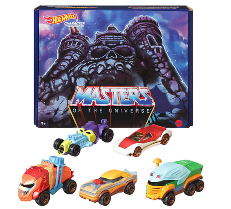 Mattel – Masters Of The Universe/Hot Wheels Co-Brand Vehicles