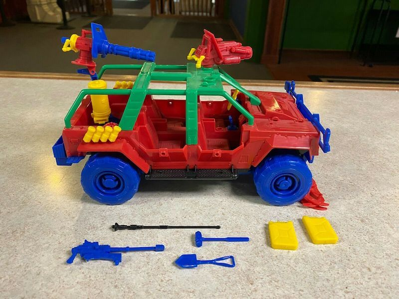 Kokomo Toys eBay Store – G.I. Joe Pursuit of Cobra Vamp, Hiss Tank & Wolf Hound Prototypes