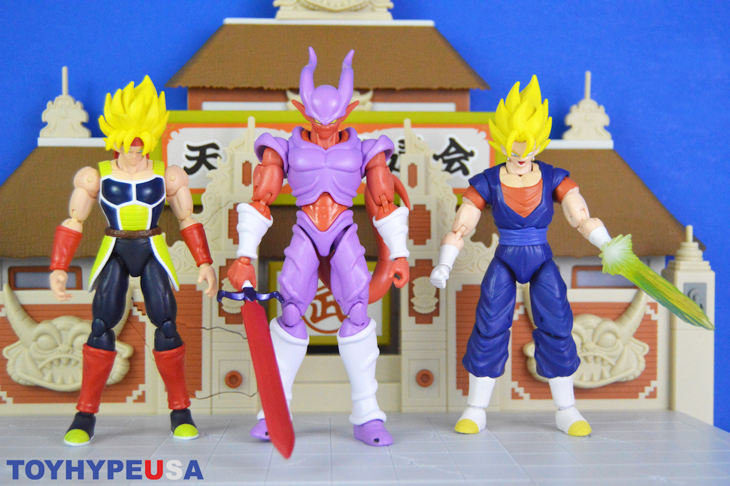 Bandai America Dragon Ball Stars Series 18 – Janemba, SS Bardock & SS Vegito Figures Review