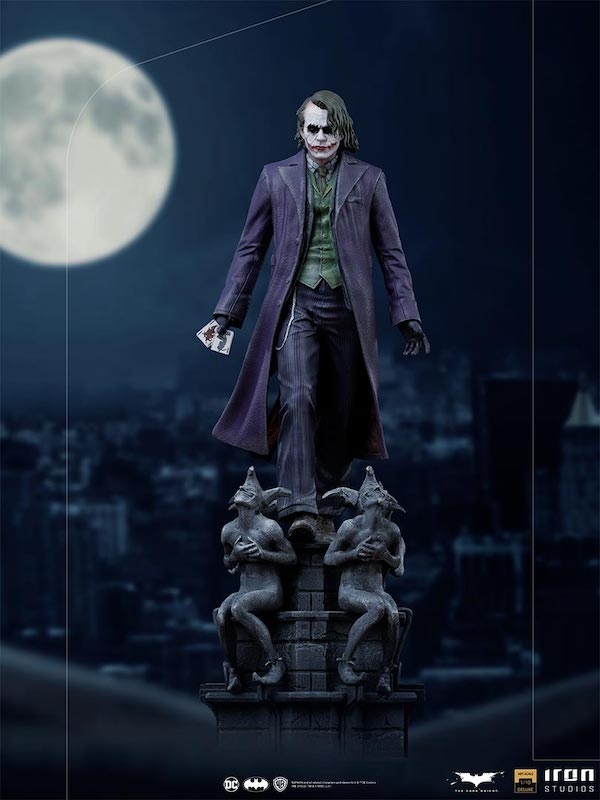 Iron Studios The Dark Knight – The Joker Deluxe Statue Pre-Orders