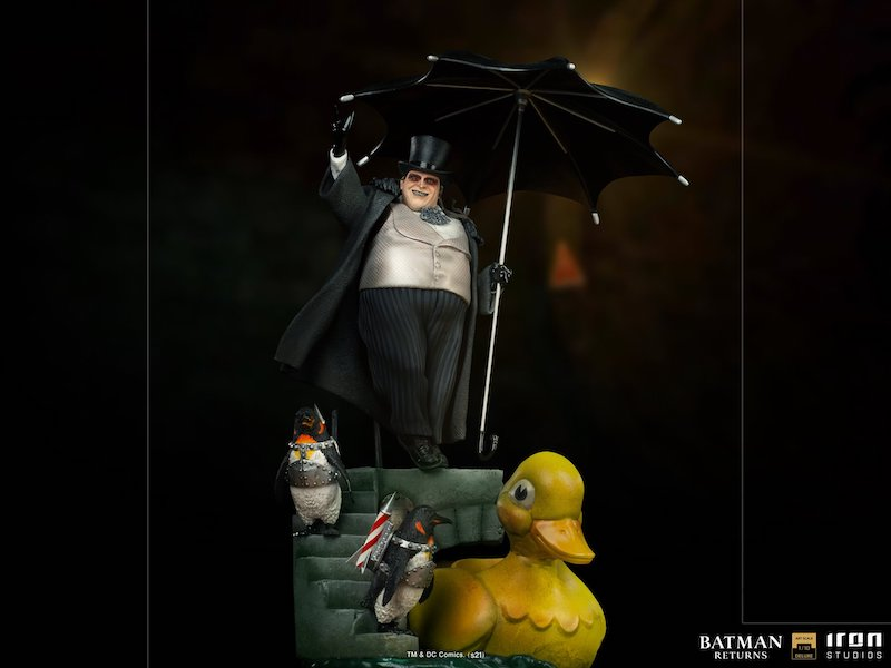 Iron Studios – Batman Returns The Penguin Statue Pre-Orders