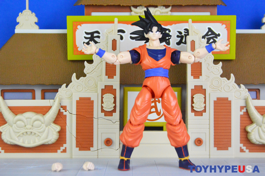 Bandai America Dragon Ball Stars Series 17 – Goku Figure Review