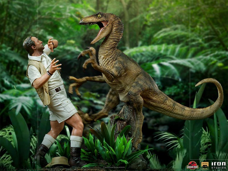 Iron Studios – Jurassic Park Clever Girl Statue Pre-Orders