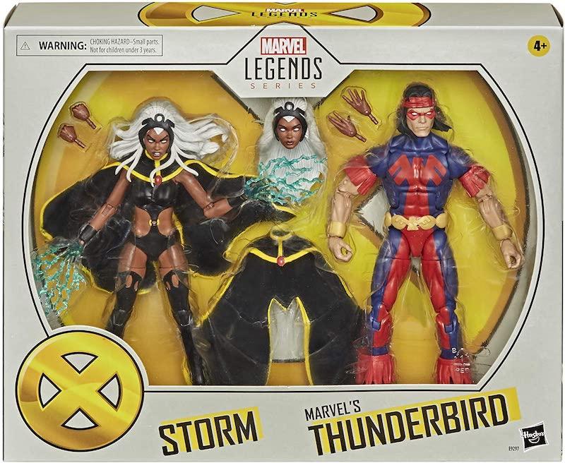 Hasbro Marvel Legends X-Men Series Storm & Thunderbird Set Now $35 On Amazon