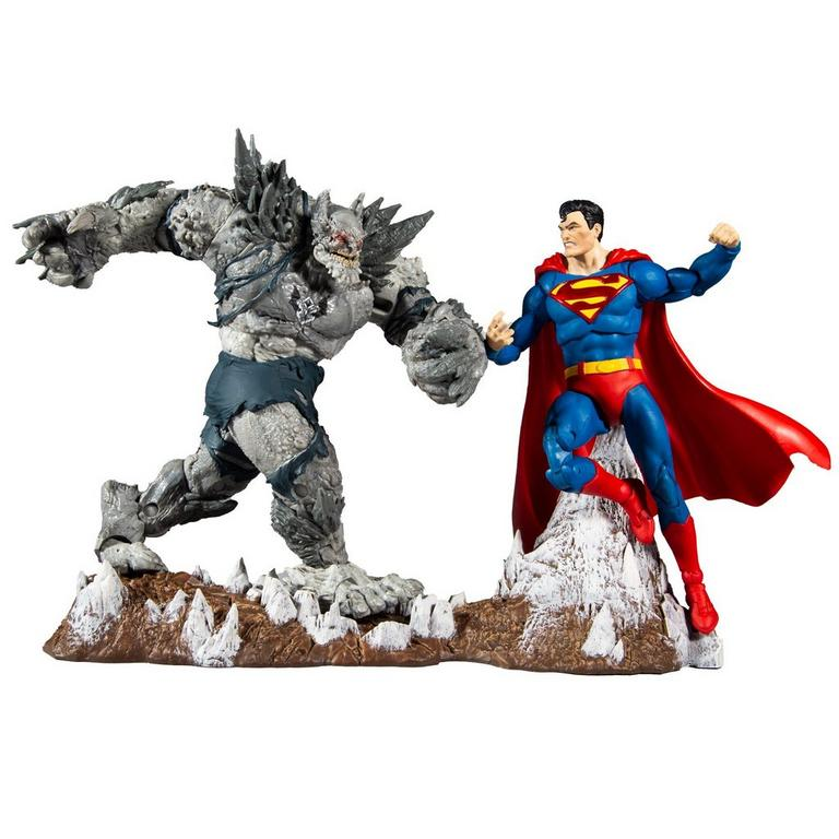 McFarlane Toys DC Multiverse Superman vs. Devastator Figure Set Pre-Orders At GameStop