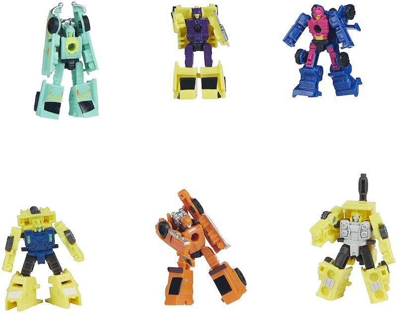 Hasbro Transformers Generations War for Cybertron Galactic Odyssey Collection Micron Micromasters In Stock On Amazon