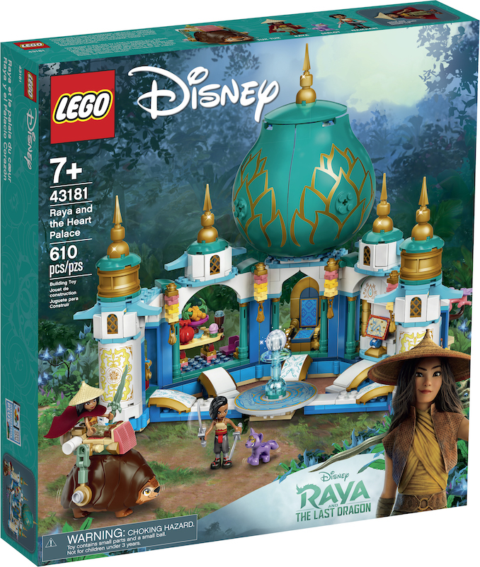 LEGO Disney Raya The Last Dragon Sets
