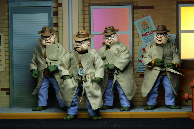 NECA Toys Teenage Mutant Ninja Turtles Cartoon Series Disguise 4-Pack – New Images