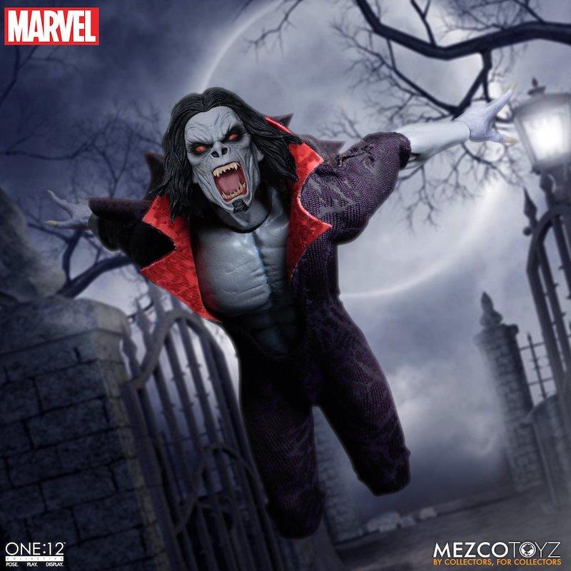 Mezco Toyz – Marvel Comics – Morbius The Living Vampire One:12 Collective Figure Pre-Orders