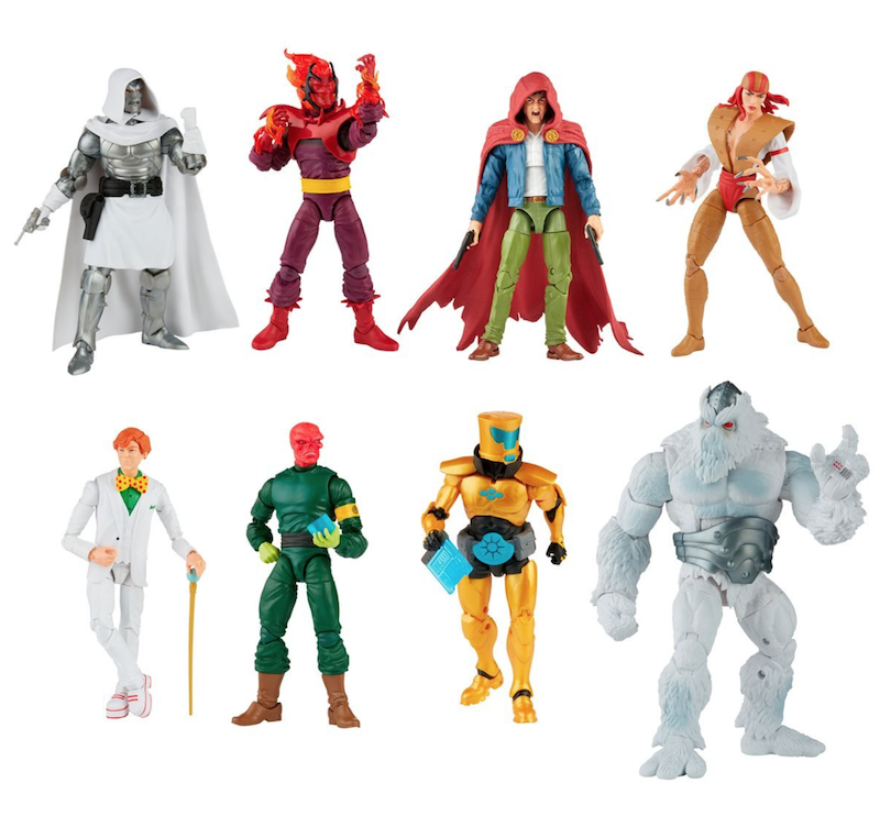 Hasbro Marvel Legends Reveals – Dr. Doom, Arcade, Lady Deathstrike & More New Pre-Orders
