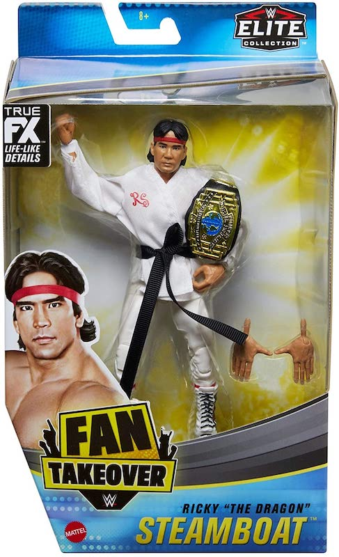 "Mattel – WWE Elite Collection Fan Takeover Ricky ""The Dragon"" Steamboat Figure Pre-Orders On Amazon"