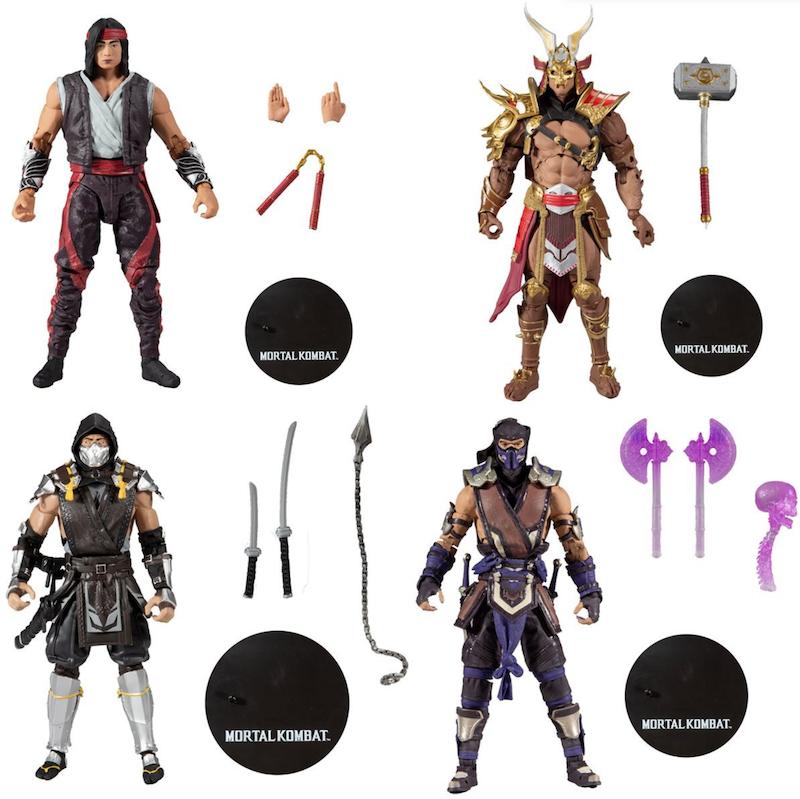 McFarlane Toys Mortal Kombat XI Series 5 Figures Pre-Orders