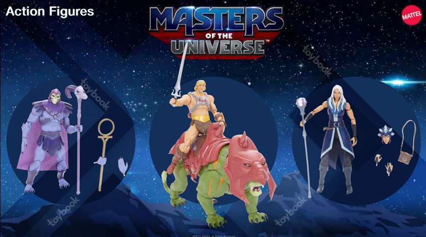 Mattel – Masters of the Universe Revelation 7″ Scale Figures