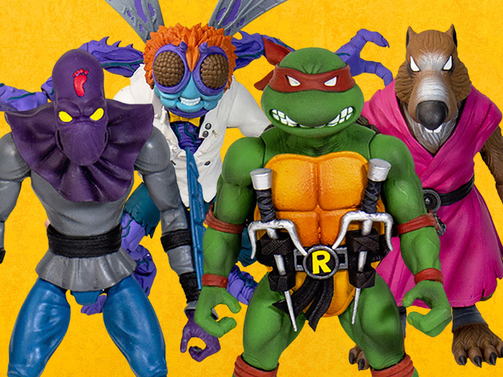 BigBadToyStore – Super7 Teenage Mutant Ninja Turtles Ultimate Wave 1 Variant Figures Back In-Stock