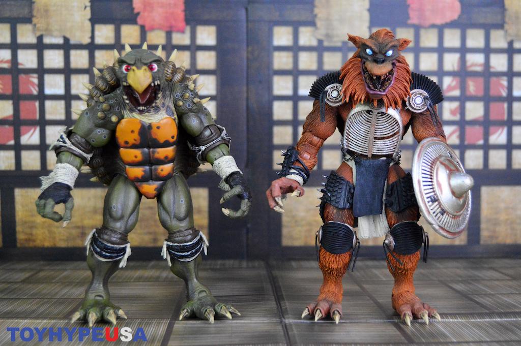 NECA Toys Teenage Mutant Ninja Turtles II: The Secret of the Ooze – Tokka & Rahzar Figures Review